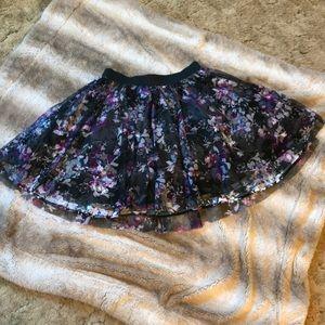 NWT Torrid mini tulle skirt